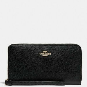 (New) Coach Large Phone Wallet